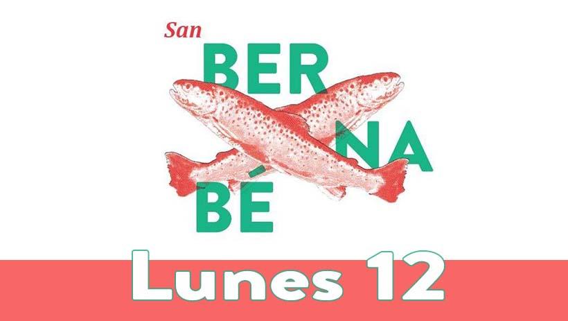 Lunes 12 de junio: Programa San Bernabé 2017
