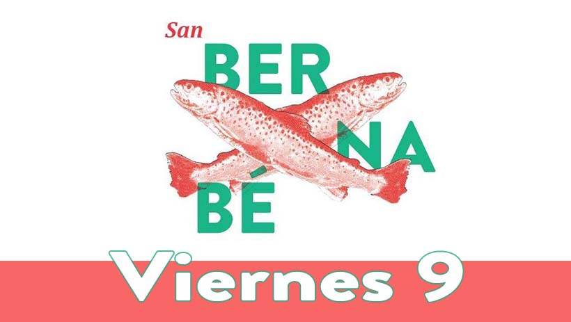 Viernes 9 junio: Programa San Bernabé 2017