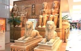 Un templo egipcio en el CC Berceo para pequeños arqueólogos