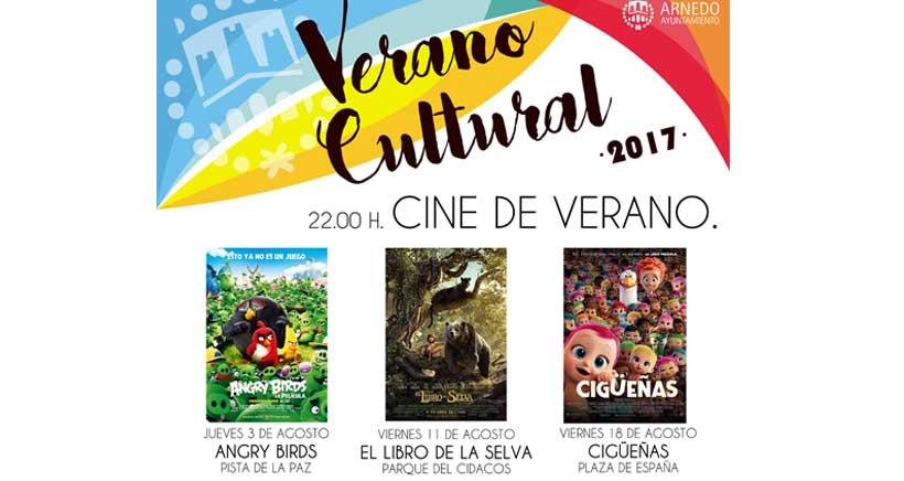Cine al aire libre para niños en Arnedo