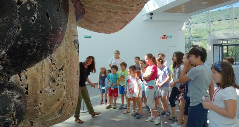 200 niños se convierten en artistas en el Museo Würth