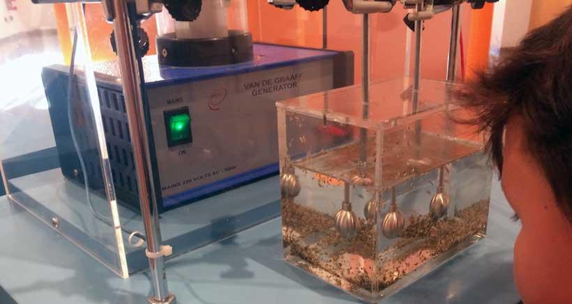 Exposición y juegos sobre la energía, en la Casa de las Ciencias