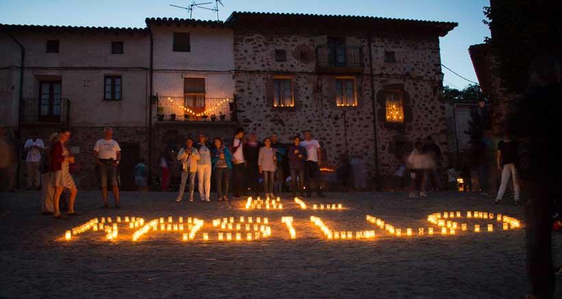 La 'Noche de las Velas' volverá a iluminar El Rasillo este sábado