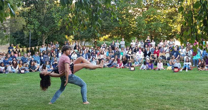 Danza al aire libre en el Festival Margen Danza