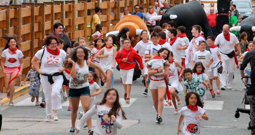 Día de la juventud en las Fiestas de Viana