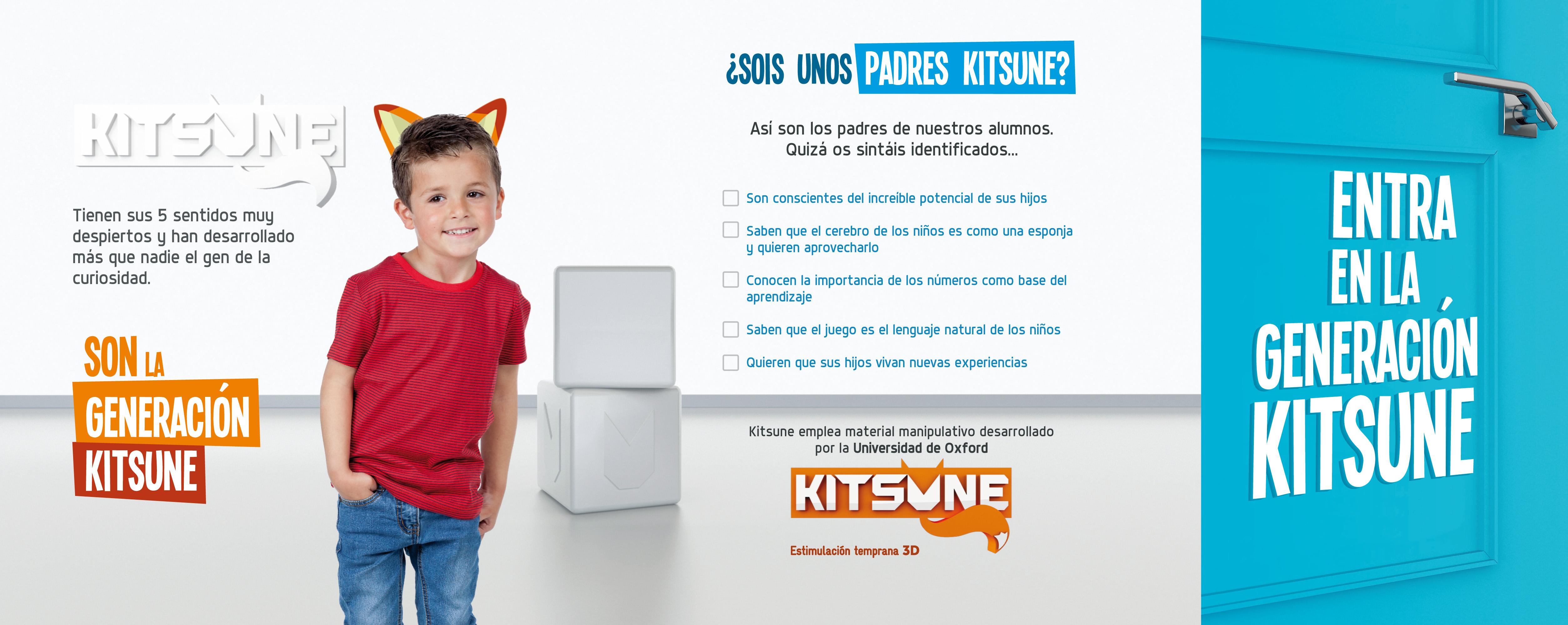 Kitsune, estimulación temprana 3D