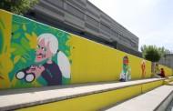 Deja tu huella para la historia: muralismo con Iván Bravo