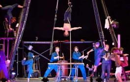 Lurrak, una fiesta circense en el Teatro Bretón