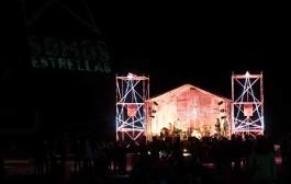 """Festival """"Somos estrellas"""", música y lágrimas a los pies del San Lorenzo"""