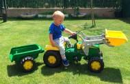 Si tu hijo se vuelve loco con un tractor… ¡Ponte en ruta!