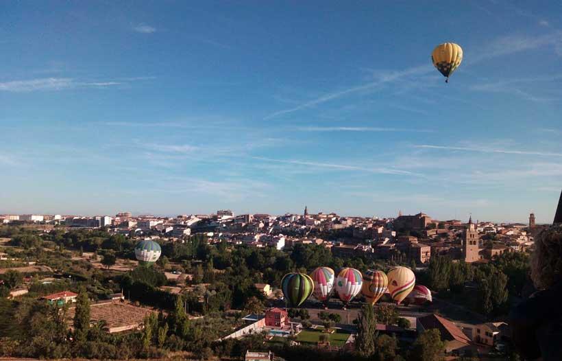 XVII Regata de globos aerostáticos en Haro y Calahorra