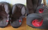 Se venden dos sillas adaptadas para coche (Grupo 2 y 3)