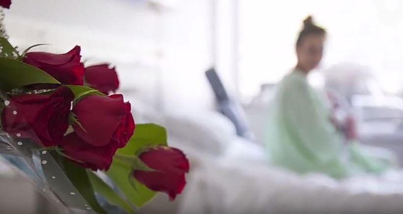 Las matronas del San Pedro realizan un vídeo para mostrar el proceso de parto a futuras mamás