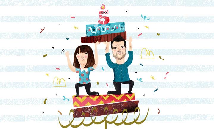 Estamos de aniversario: ¡cumplimos 5 años!