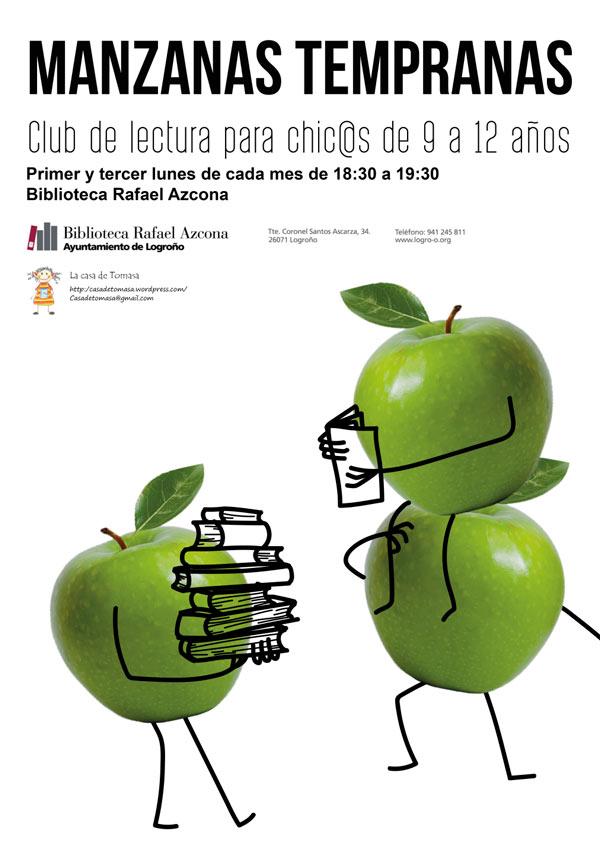 cartel-manzanas-tempranas-club-lectura
