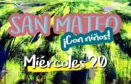 Miércoles 20. Programa San Mateo 2017