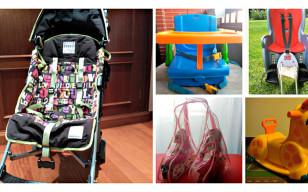 Se venden: artículos para bebés y niños