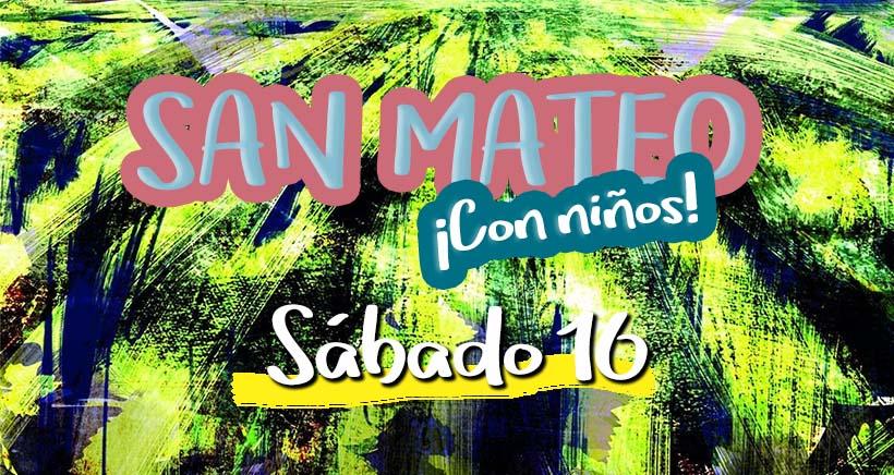 Sábado 16. Programa San Mateo 2017