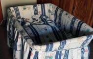 Se regalan: capazo y sábanas de bebé en Logroño