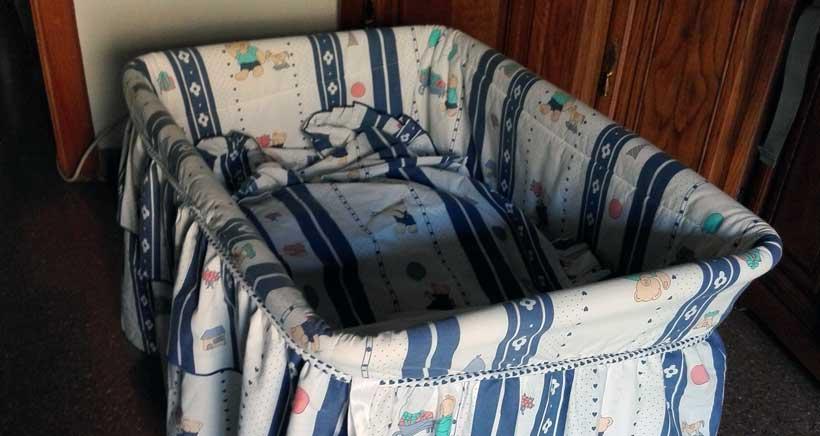 Se regalan: capazo, sábanas y ropita de bebé en Logroño