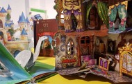 Exposición de libros troquelados (con movimiento) en la Rafael Azcona