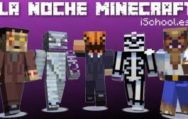 Los personajes de Minecraft salen en Halloween ¿Juegas?