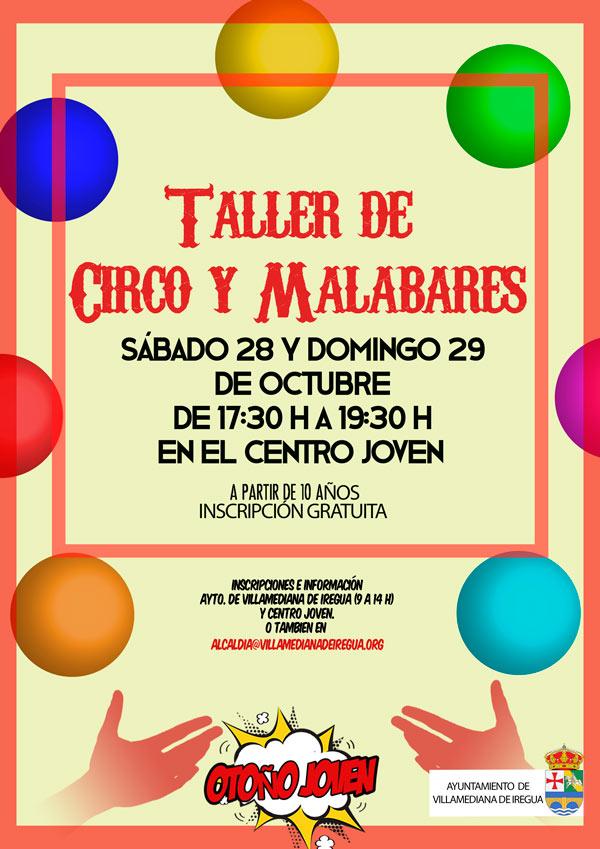 cartel-taller-villamediana-circo-malabares