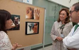 El San Pedro acoge una exposición de fotografías reales de lactancia