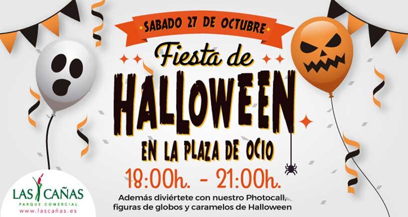 Gran fiesta infantil de Halloween en Las Cañas