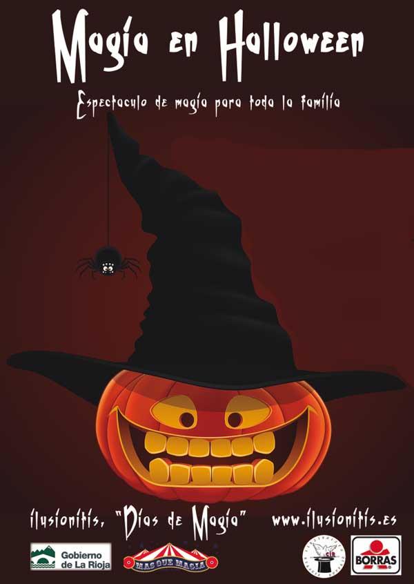 Espectaculo magia ninos en Halloween Logrono