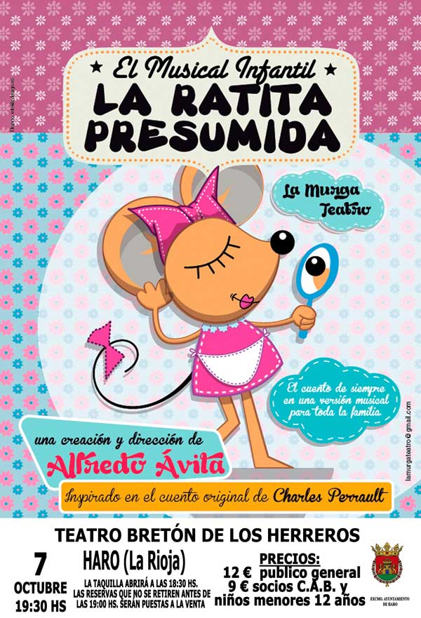 musical-ratita-presumida-Haro-cartel