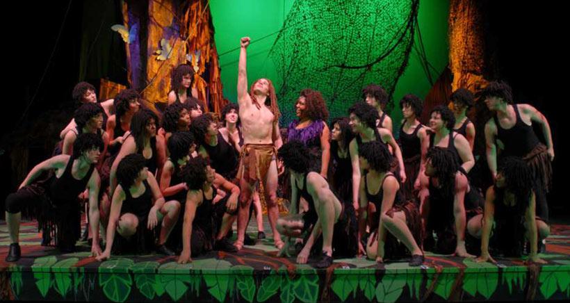 ¡Aaaaaa, aaaaaa, aaaaaa! ¡Tarzán, el musical llega a Arnedo!