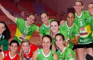 Fiesta infantil en el inicio de la Superliga de Voleibol