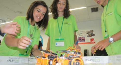 talleres robotica casa ciencias Logrono