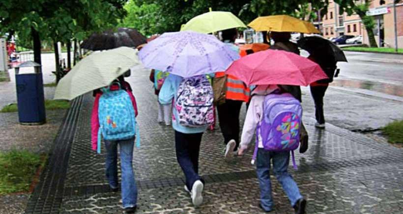El 'Pedibús', la forma más segura de ir al colegio