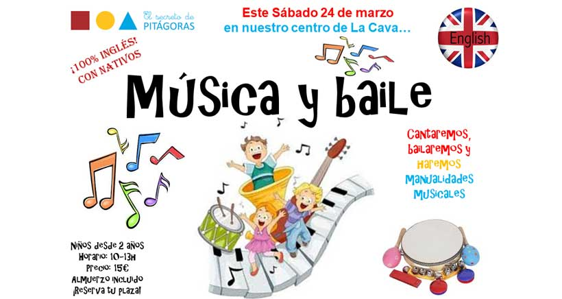 Un sábado cantando y bailando en inglés en El Secreto de Pitágoras