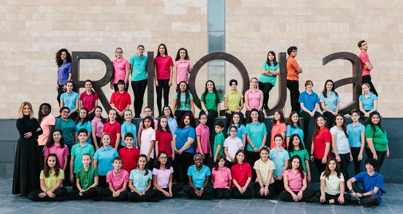 Los coros de Bilbao y La Rioja se unen por la infancia