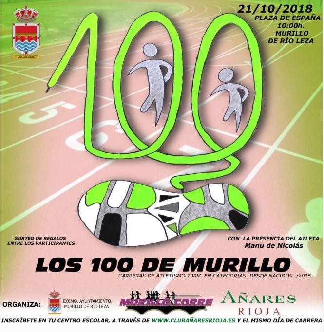 Los 100 de Murillo carreras infantiles