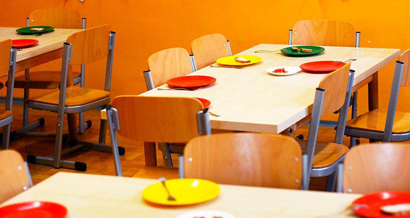 Comedor escolar calidad por cantidad for El comedor escolar