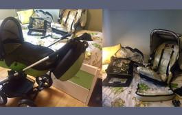 Se vende: cochecito y silla de paseo Musty