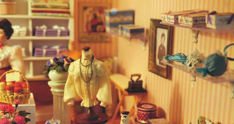 Exposición de miniaturas y casas de muñecas en Haro