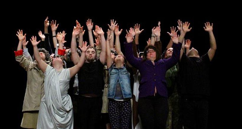 'Gesticúlate' de Down La Rioja, o la demostración del teatro como espacio inclusivo