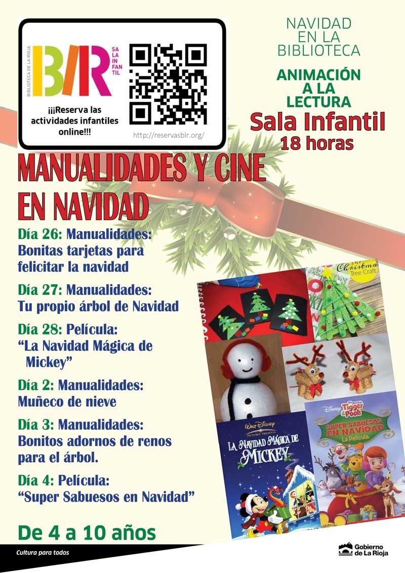 Manualidades Y Magia Para Ninos En Navidad En La Biblioteca De La Rioja