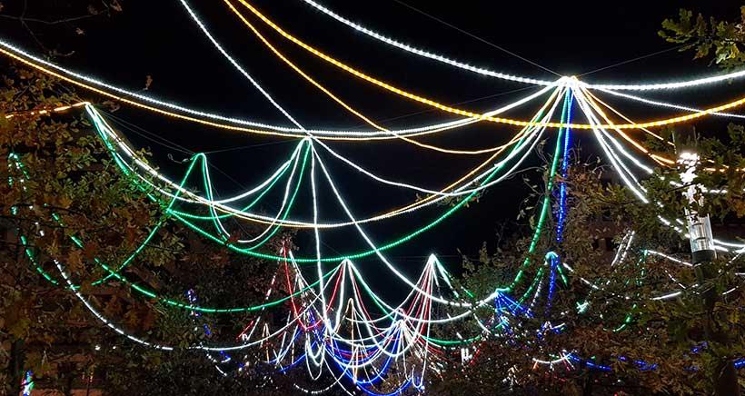 Así son las luces de Navidad de Logroño