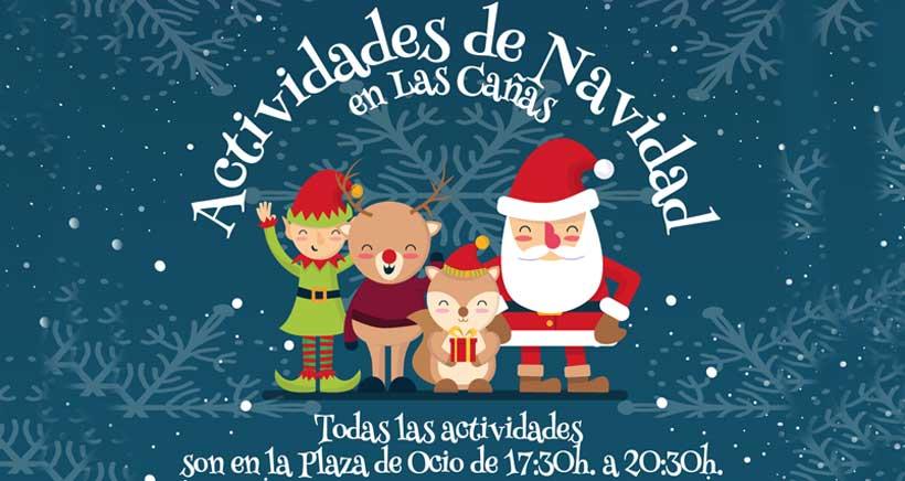 """Manualidades y visitas """"reales"""" esta Navidad en Las Cañas"""