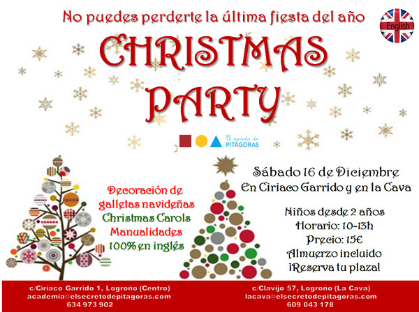 cartel-fiesta-de-navidad-el-secreto-de-pitagoras