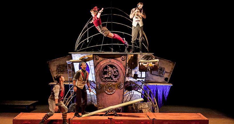 'Oopart, historia de un contratiempo', circo y mucha imaginación en Logroño