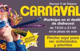 Desfile de disfraces con premios en la fiesta de Carnaval en Las Cañas