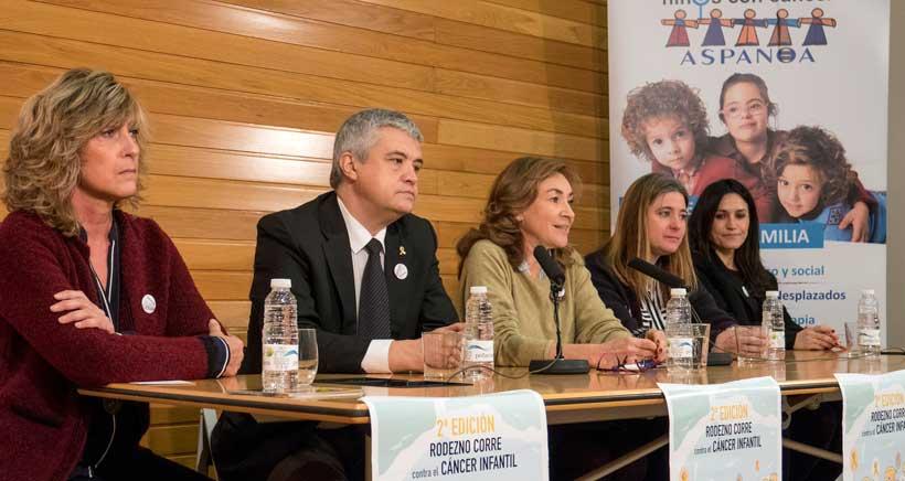 Carrera solidaria en Rodezno contra el cáncer infantil