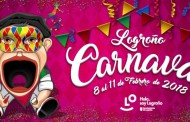 Un tragantúa-arlequín, protagonista del cartel de Carnaval de Logroño 2018